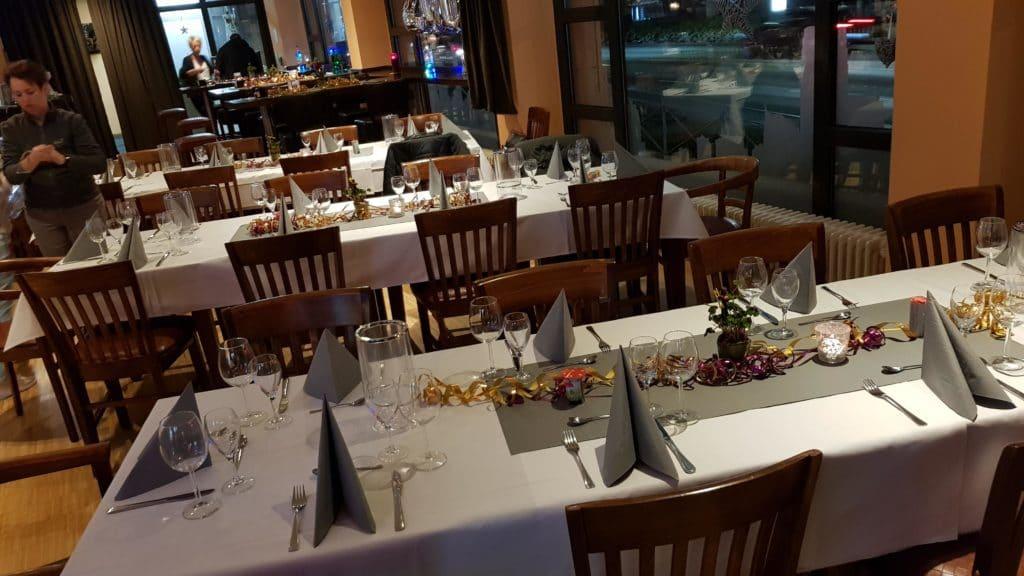 Silvesterfeier im Restaurant