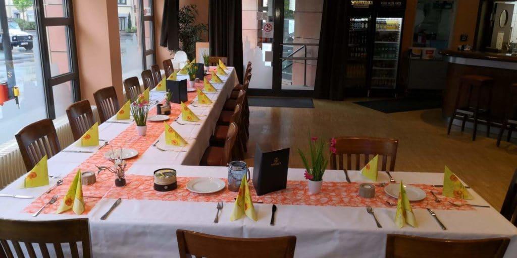 Geburtstagsfeier im Restaurant